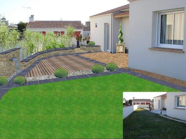 Etude de projet | SARL Gorichon Paysagiste à Saint Michel en l'Herm en Vendée 85580